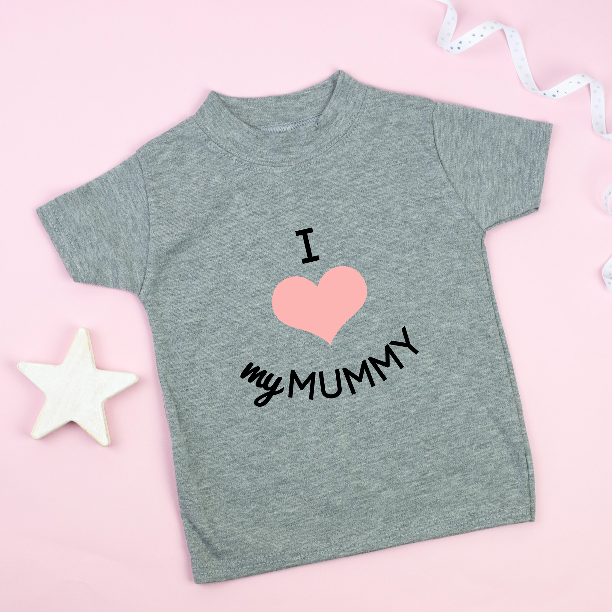 i heart my mummy tshirt